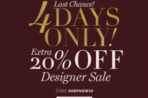 Extra 20% off at the on sale items for my readers only!!!!!!